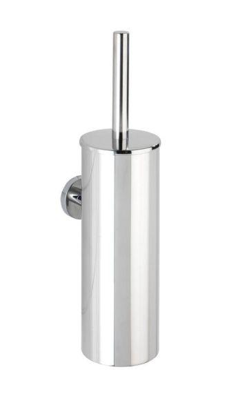 BOSIO glänzend WC-Garnitur aus Edelstahl