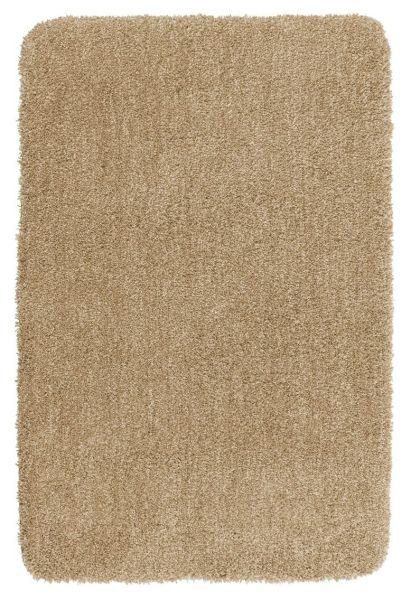 MELANGE Sand Badteppich, 60x90 cm, fusselfrei