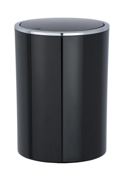 INCA Black Schwingdeckeleimer, 5 Liter