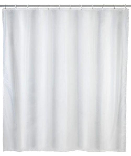UNI weiss Duschvorhang, 240x180 cm, waschbar