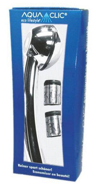 Wasserspar-Set mit Sparbrause Clima Chrom