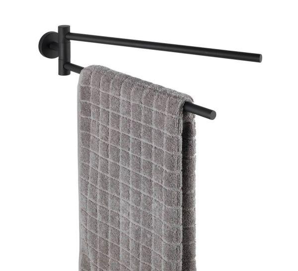 BOSIO Black matt Handtuchhalter