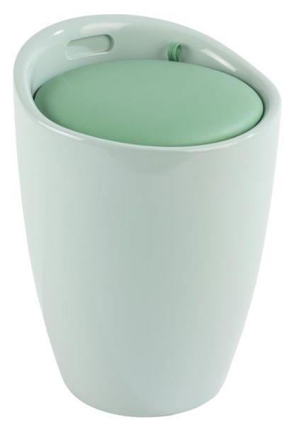 Trendiger Badhocker CANDY in mint