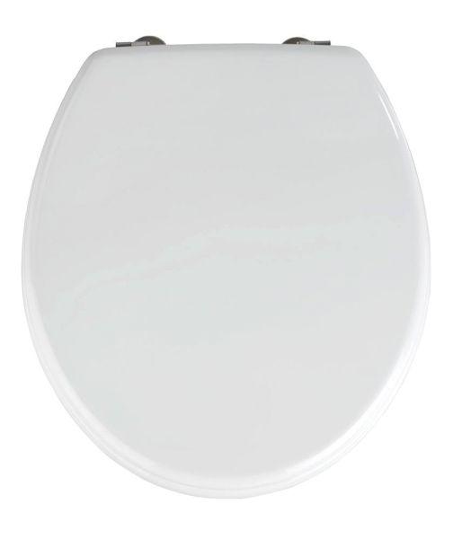 PRIMA weiss WC-Sitz mit Edelstahlscharnieren
