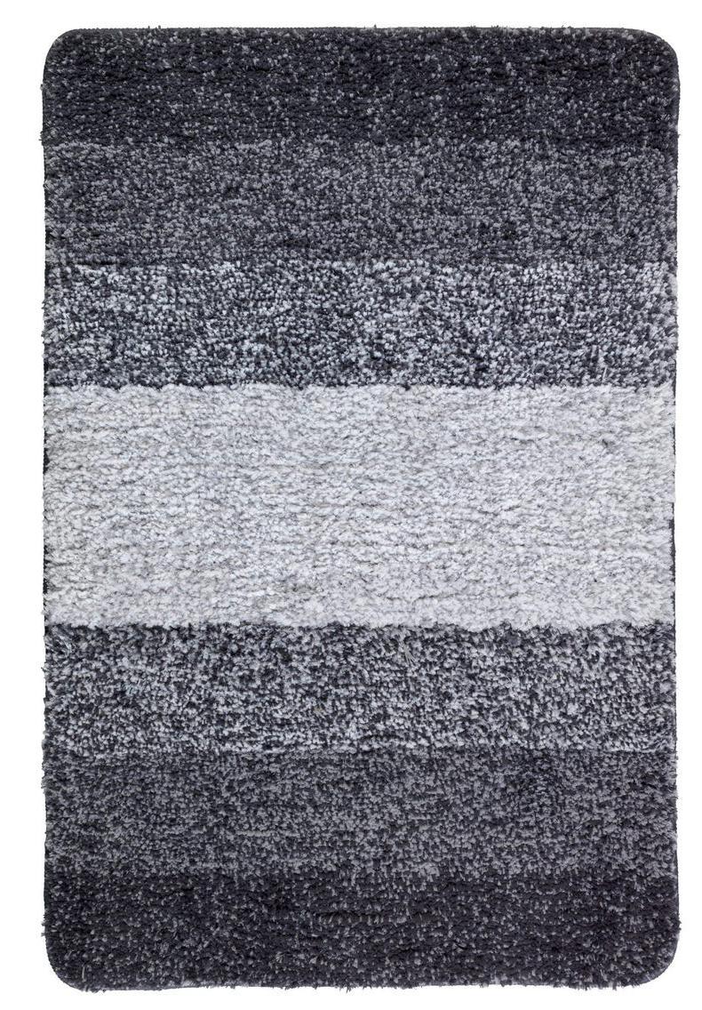 Luso Grau Badteppich 60x90cm Schnelltrocknend