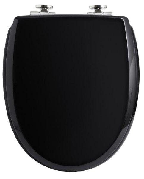 WC-Sitz KAN 3001 Exclusive in schwarz mit Absenkautomatik
