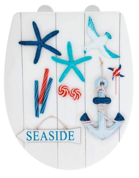 SEASIDE Premium WC-Sitz mit Absenkautomatik