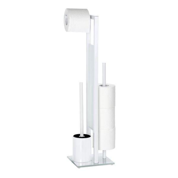 Moderne Bürstengarnitur mit integrierten Ersatzrollenhalter