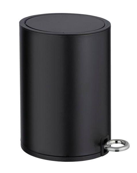 MONZA schwarz matt Kosmetikeimer Easy Close, 3 Liter