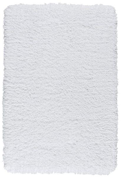 BELIZE Weiss Badteppich, 70x120 cm, fusselfrei