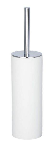 IDA weiß WC-Garnitur, Bürstenkopf aus Silikon