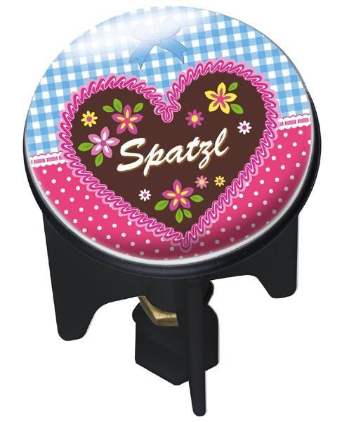 Waschbecken-Stöpsel Pluggy SPATZL von Wenko