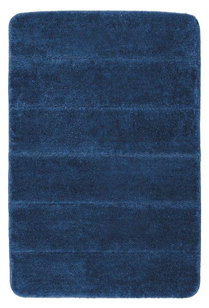 STEPS Marine Blue Badteppich, 60x90 cm, fusselfrei