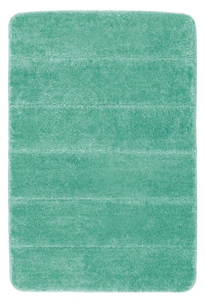 STEPS Turquoise Badteppich, 60x90 cm, fusselfrei