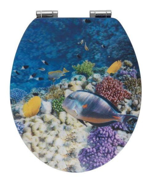FISH WC-Sitz mit 3D-Effekt und Absenkautomatik