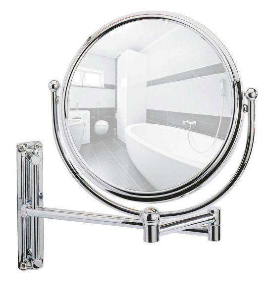DELUXE Kosmetikspiegel, 5-fach Vergrößerung