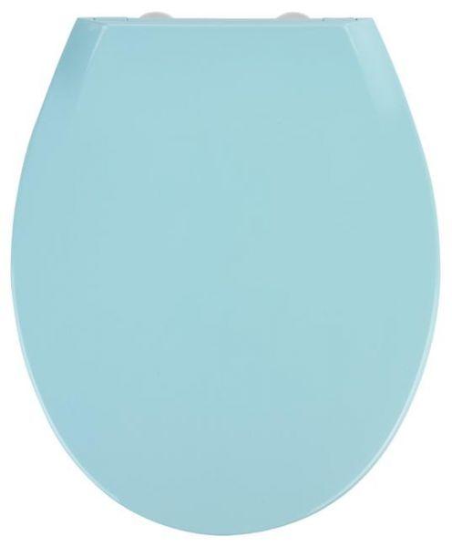 WC-Sitz Kos in blau von Wenko mit Absenkautomatik