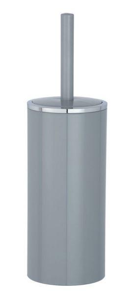 INCA grey WC-Garnitur, Bürstenkopf aus Silikon