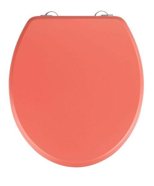 PRIMA Coral Matt WC-Sitz mit Edelstahlscharnieren