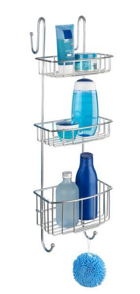 OLESI Duschregal mit 3 Etagen für die Duschkabine