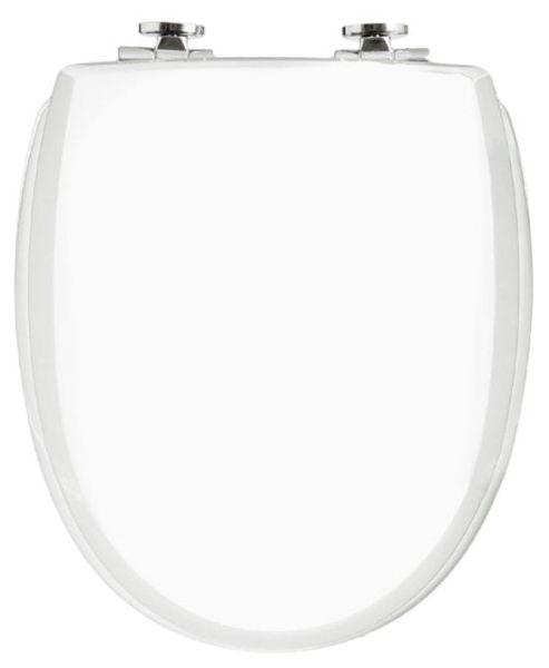 WC-Sitz KAN 3001 Exclusive in weiß matt mit Absenkautomatik