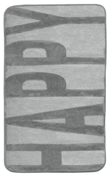 CONCRETE Grey Badteppich, 50x80 cm, Memory-Schaum