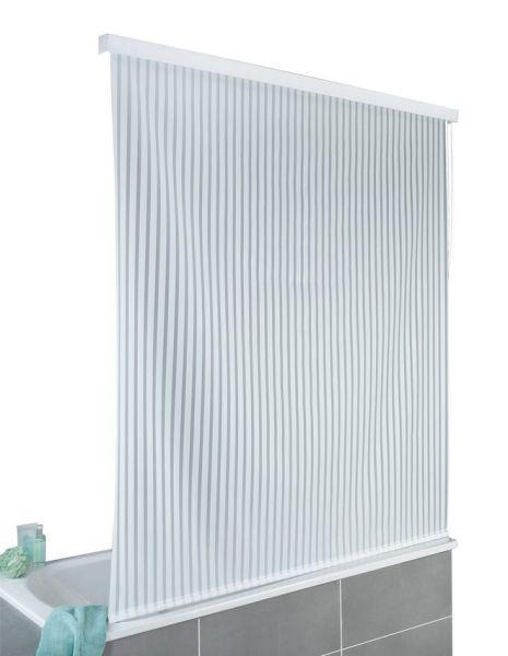 DUSCHROLLO, 128x240 cm, ideal auch für Badewanne