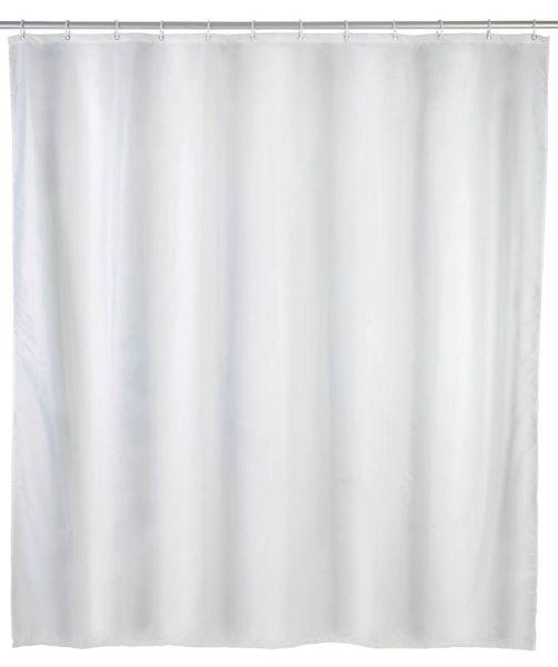 UNI weiss Duschvorhang, 120x200 cm, Anti-Schimmel
