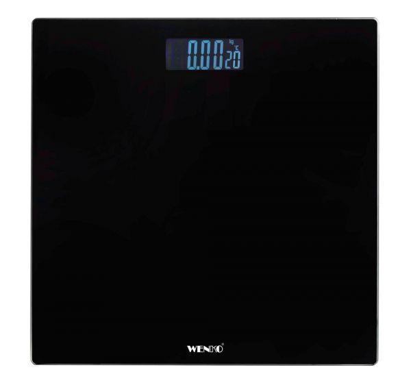 LCD schwarz Personenwaage mit LCD-Display
