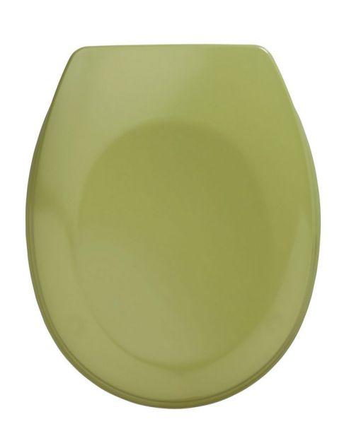 BERGAMO moosgrün WC-Sitz, Edelstahlscharniere
