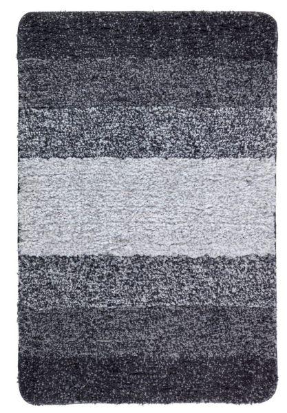 LUSO grau Badteppich, 60x90cm, schnelltrocknend