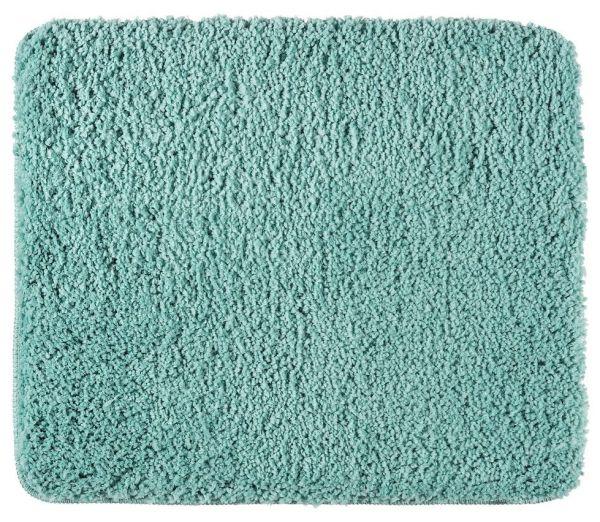 BELIZE Turquoise Badteppich, 55x65 cm, fusselfrei