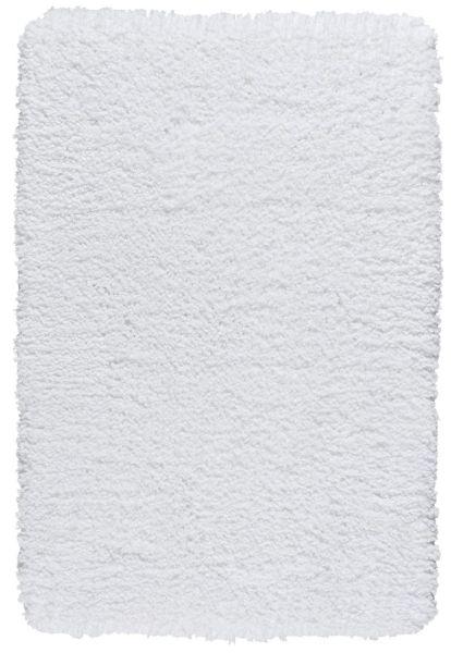 BELIZE Weiss Badteppich, 60x90 cm, fusselfrei