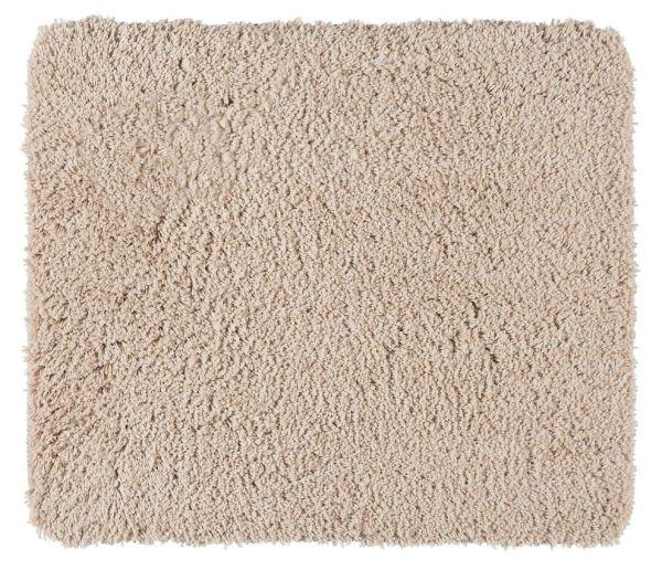 MELANGE Sand Badteppich, 55x65 cm, fusselfrei