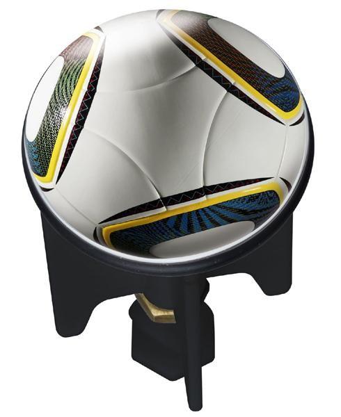 Waschbecken-Stöpsel Pluggy FOOTBALL von Wenko