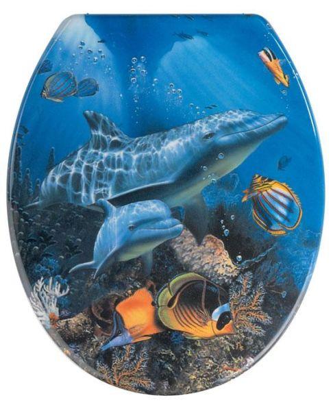WC-Sitz Sealife aus Duroplast