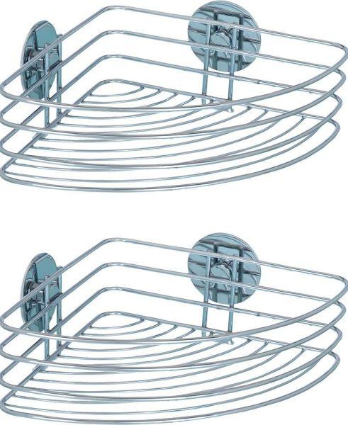 TURBO-LOC® Eckablage, ohne Bohren, 2er-Set