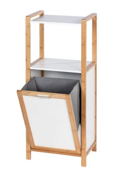 FINJA Regal mit Wäschebox aus Bambus