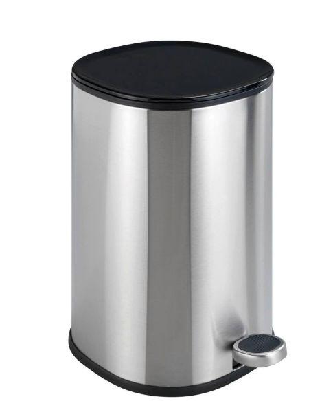 NANT silber matt Kosmetikeimer, 5 Liter, Easy-Close