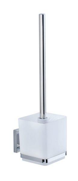 QUADRO Vacuum-Loc® WC-Garnitur aus Edelstahl