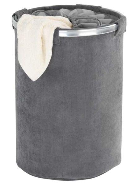 Strapazierfähiger Wäschesammler Cordoba grau von Wenko