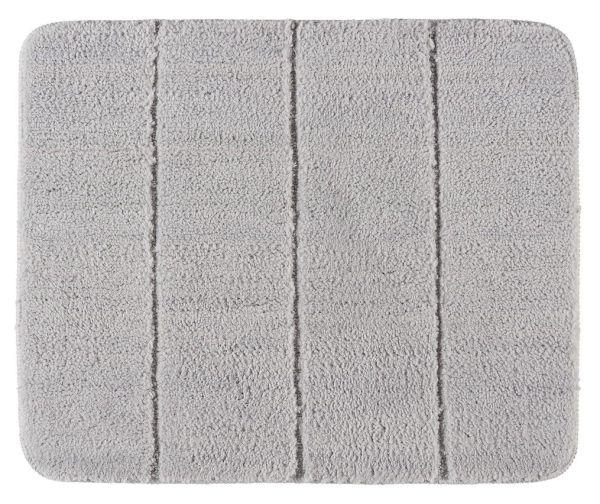 STEPS Light Grey Badteppich, 55x65 cm, fusselfrei