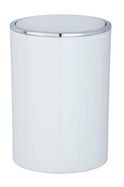 INCA White Schwingdeckeleimer, 5 Liter