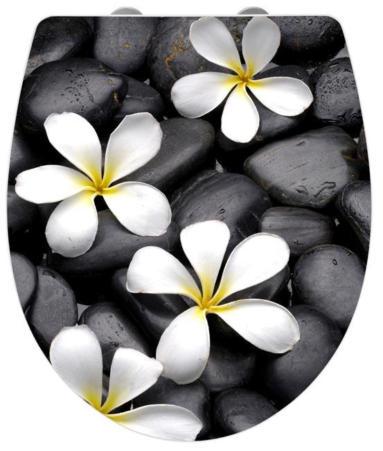 wenko toilettendeckel bloom aus duroplast mit absenkautomatik. Black Bedroom Furniture Sets. Home Design Ideas