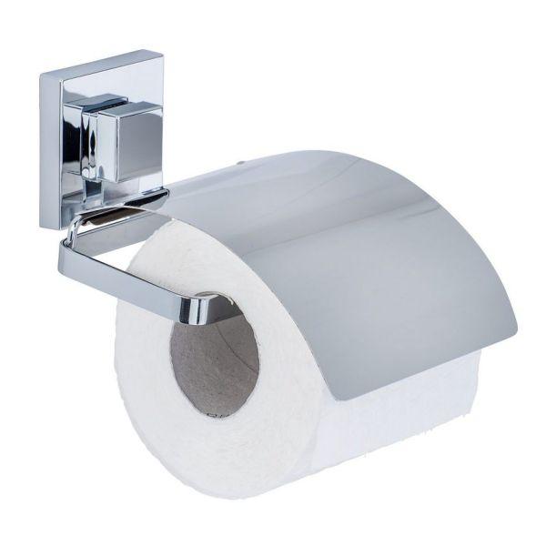 QUADRO Cover Toilettenpapierhalter aus Edelstahl