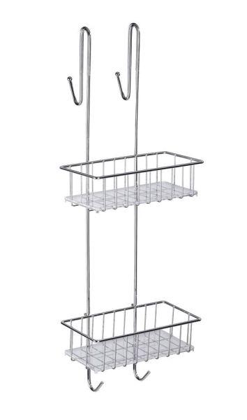 ALDO Duschregal mit 2 Etagen für die Duschkabine