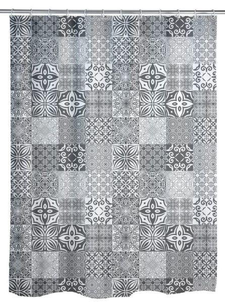PORTUGAL Duschvorhang, waschbar bis 30°C