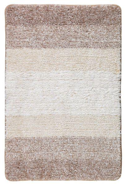 LUSO beige Badteppich, 60x90cm, schnelltrocknend