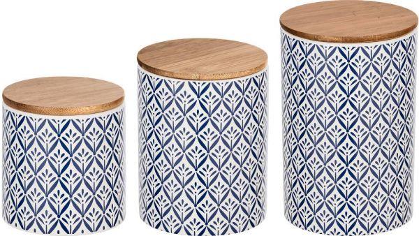 LORCA Universaldosen aus Keramik, 3er-Set