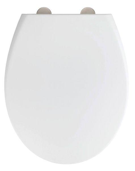 IKARIA weiss matt WC-Sitz, antibakteriell